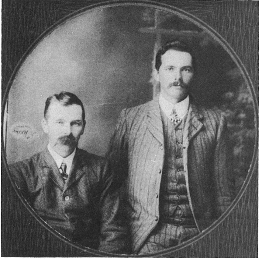 Griffin Brothers - Robert left and Edwin (Ted).