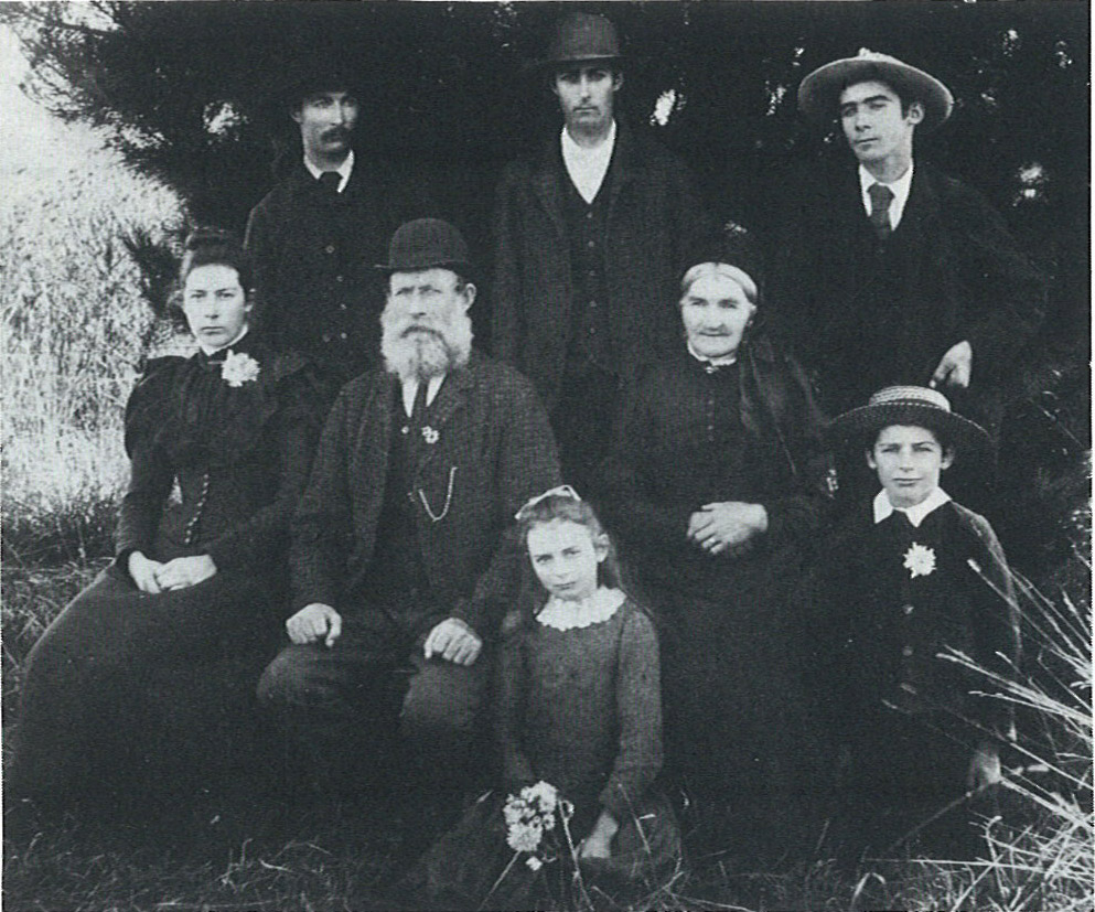 Ramsay Family about 1890.