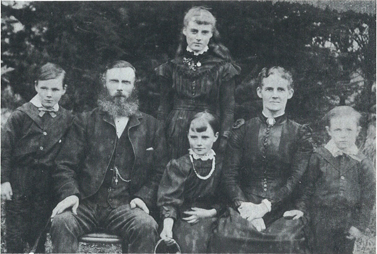 Richardson Family about 1890.