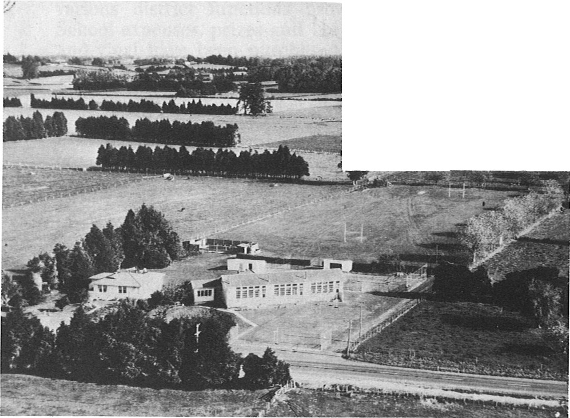 School, house and grounds, 1970.