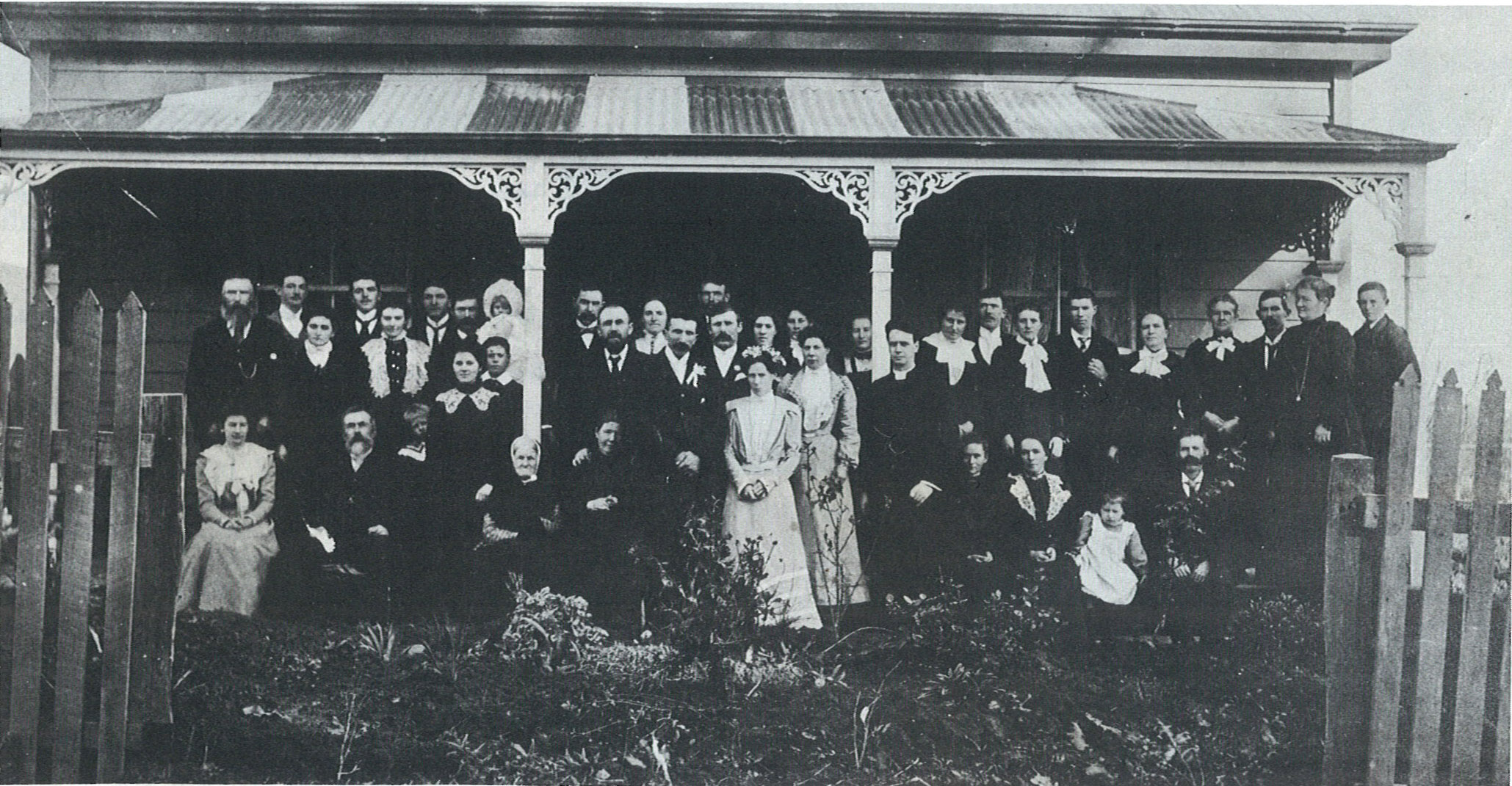 A Shaw Family Wedding about 1895.