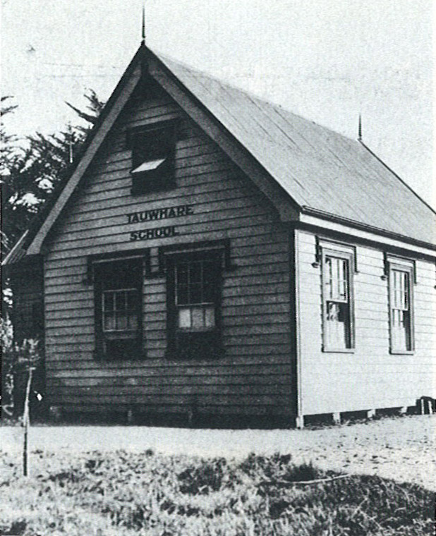 The First School - 1884.